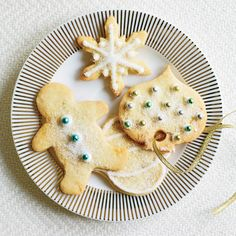Top 10 Holiday Cookies -Ginger-Studded Sugar Cookies