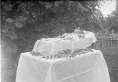 begravningsbild av barn.