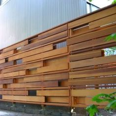 Contemporary Fencing Horizontal Fence Styles