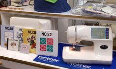 Pre-owned top of the line Brother Sewing & Embroidery Machine, made in Japan, complete with manual, accessories and loaded with extras