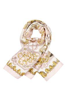 Vintage Hermes Lvdovicvs Magnvs Silk Scarf