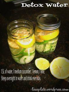 detox water recipe! #detox