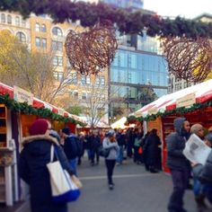 Because the markets…   31 Reasons Christmas In New York City Ruins You For Life