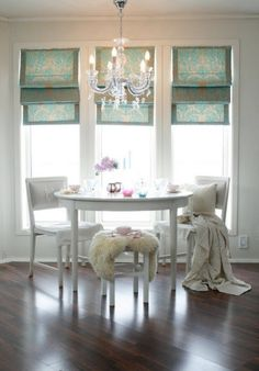 from the 1920's, loving the chandelier | cozy spaces, green places