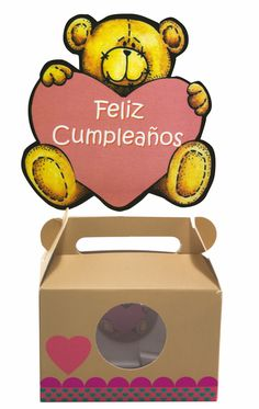 GUMA Oso Feliz Cumpleaños