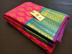 Kanjivaram Sarees Silk, Soft Silk Sarees, Pattu Saree Blouse Designs, Indian Bridal Sarees, Wedding Stage, Punjabi Suits, Designer Wear, Yards, Marriage