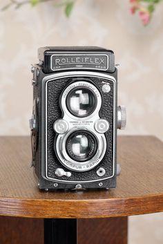 Superb! 1938 Rolleiflex Automat, Freshly Serviced, CLA'd #Rollei