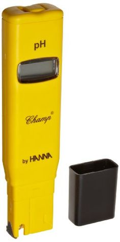 Hanna Instruments Hi98108 Phep + Ph Tester With Automatic Temperature Compensation, 0.0 To 14.0 Ph, +/-0.1 Ph Accuracy, 0.1 Ph Resolution, 2015 Amazon Top Rated pH Meters #BISS