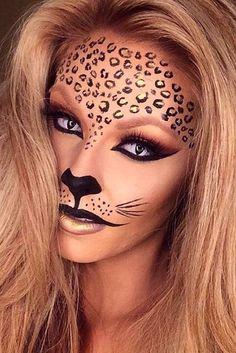 Halloween Makeup Looks That Are Creepy Yet Cute - Miladies.net #carnivalmakeup
