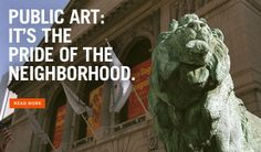 Chicago Public Art - Header | Research Chicago public art locations, scout locations for art pranks.