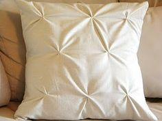 DIY Tucked Pillows