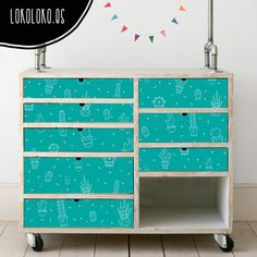 available for sale Dresser Furniture, Cactus, Ideas Para, Boy Or Girl, Sweet Home, Cool Stuff, Diy, Home Decor, Illustration