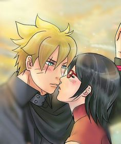 Boruto and Sarada in the future  #BoruSara is life