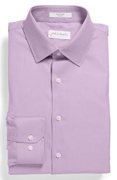 #John W. Nordstrom #Tops #John #Nordstrom #Trim #Dress #Shirt #Lavender #Spray #16.5 #34/35 John W. Nordstrom Trim Fit Dress Shirt Lavender Spray 16.5 - 34/35 http://www.snaproduct.com/product.aspx?PID=5382832