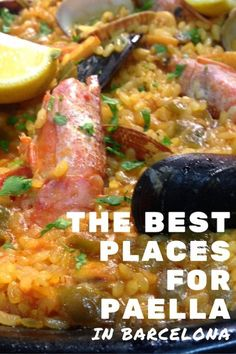 bestpaellapin Spanish Cuisine, Spanish Food, Barcelona Travel, Foodie Travel, Places To Eat, Paella, Street Food, Tapas, The Good Place