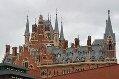 St Pancras Renaissance Hotel, London by karenblakeman, via Flickr