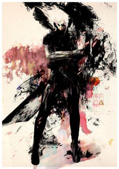 Metal Gear Solid 2 by Yoji Shinkawa