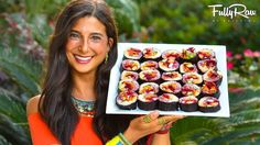 Raw vegan rainbow sushi rolls! These are SO colorful, so nutritious, SOOOOoo delicious, and SO much fun to eat! These are raw vegan, low fat, gluten-free, an...