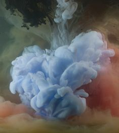 Incredibili liquidi colorati by Kim Keever