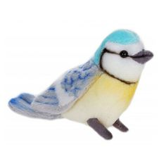 Hansa Handcrafted Plush Toys Blue Bird 4 Ark Size 4553 for sale online Cute Stuffed Animals, Dinosaur Stuffed Animal, Nesting Boxes, Plush Animals, Plushies, Blue Bird, Great Gifts, Birds, Crafts