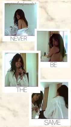 Camila Cabello wallpaper. Never be the same, camila. @myrandomfanarts1 om ig