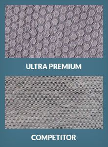 Ultra Premium non slip rug pad protects rug and floor and prevents slipping. It is made in the USA of natural material, is thick and safe for the floor.