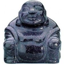 Blue #Goldstone #Buddha 50mm - www.dochsa.com #Dochsa