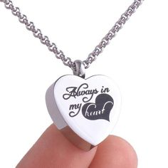 Personalized Hypoallergenic Pendant Necklace with Free Engraving