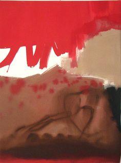Nancy Ortenstone, Taos NM artist - Painting Detail: Drama