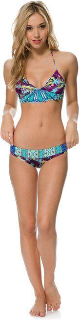 Maaji Diamond Gypsy Bikini. Crazy fun prints. This style looks really flattering!