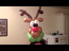 Balloon Reindeer  Headband.