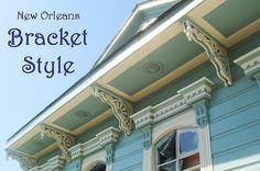 decorative roof overhang supports - Google Search