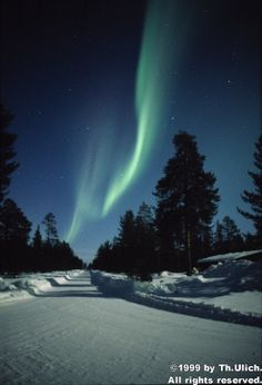Northern Lights Forecast - from Th. Ulich at the Sodankyla GeoPhysical Observatory in Finland. Lots of in-depth information and links here. I want to visit my friend and relation in Finland soon. :)