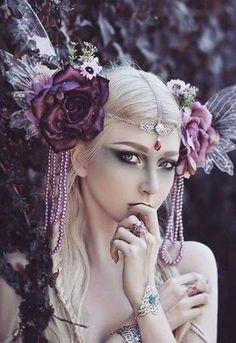 67 Trendy Ideas For Fashion Photography Fantasy Headpieces Foto Fantasy, Fantasy Art, Dark Fantasy, Fantasy Photography, Fashion Photography, Photography Flowers, Colour Photography, Photography Poses, Photography Reflector