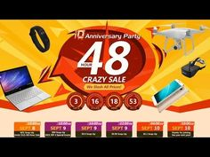 48 hours of crazy deals on banggood.com   10th Anniversary  DRAW (SUBTITTLE)   Welcome back to ERDC !!!10th Anniversary in banggood.com and they will take from September 8 (10:00 a.m.) to September 10 (10:00 a.m.) attractive offers on the web and the smartphone app.1 will last 48 hours starting at 10:00 am. 8 of September and ends by 10:00 am. Sept. 10. (GMT  8)Crazy 2 Pro from Pocket http://www.youtube.com/watch?v=qfDFDaPTeis via IFTTT IFTTT international giveaway Pocket sorteo…