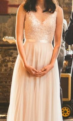 Wtoo Persiphone 13614: buy this dress for a fraction of the salon price on PreOwnedWeddingDresses.com
