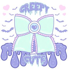 Creepy Cute by MissJediflip.deviantart.com on @deviantART