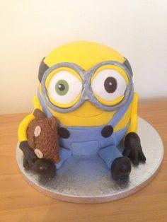 Minion Bob Cake