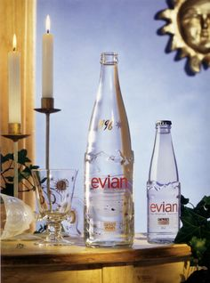 evian Design Edition Christmas 1996 #design #bottle #liveyoung