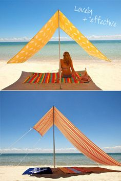 beach shade! I'm going to have to try this since i burn so darn easily