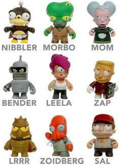 i want a little zoidberg or nibbler
