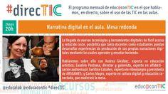 #direcTIC noviembre: Narrativa Digital