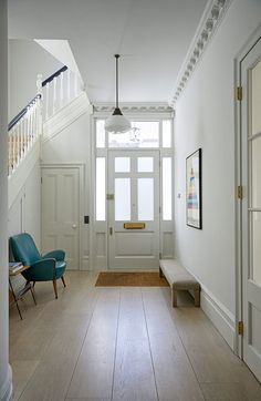 London townhouse with colorful interiors   PUFIK. Beautiful Interiors. Online Magazine