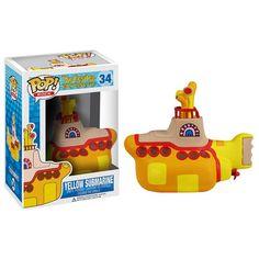 Beatles Yellow Submarine Yellow Submarine Pop! Vinyl Vehicle