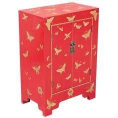 Our products range from trendy gloss white modern bedside cabinets to narrow pine or oak cabinets. Chinese Furniture, Diy Furniture, Chinese Butterfly, Packing Cartons, Red Cabinets, Butterfly Decorations, Cabinet Styles, Chinese Antiques, Paper Dolls
