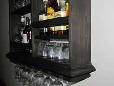 Fabulous Mini Bar Botellero mueble estilo minimalista licor mancha