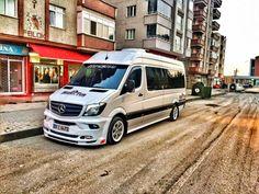 Sprinter Bus, Sprinter Motorhome, Mercedes Sprinter, Airstream Interstate, Mercedes Benz Vans, Off Road Camper Trailer, Cool Vans, Lexus Cars, Campervan