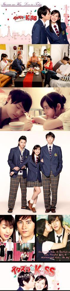 Itazura na Kiss ~ Love in TOKYO (イタズラなKiss ~ Love in TOKYO) - Jdrama 2013 - 16 episodes - Miki Honoka / Furukawa Yuki / Yamada Yuki