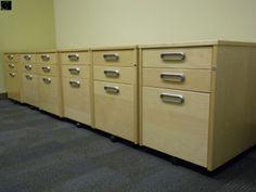IKEA birch galant system