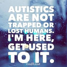 Autistics aren't trapped, broken, a lost cause, a missing piece, a burden or anything else. We are beautiful people that are here for a reason. Today is #worldautismawarenessday,but instead it should be a day to accept autism and even celebrate it. It shouldn't be a day to mourn autism and just bring awareness to it. Autism brings brightness, creativity, and uniqueness to the world. A world without neurodiversity would be a pretty boring world. Go team neurodiversity 🤘…